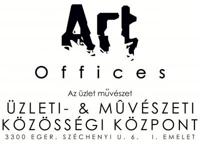 Art Offices feher fektetett